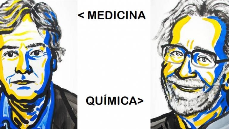 Premios Nobel de Medicina y Química 2017