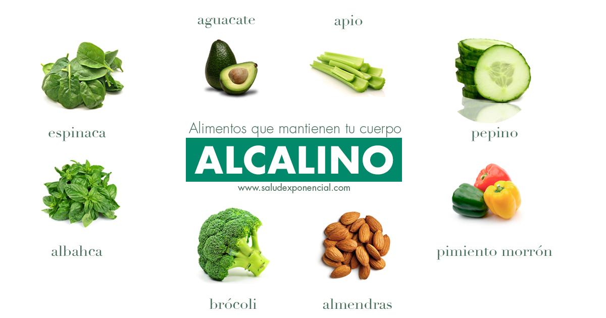 ¿Cómo ayudo a mi salud con una dieta alcalina?